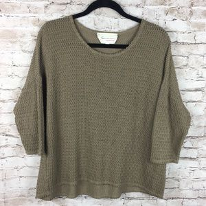 Two by Vince Camuto Scoop Neck Sweater Top